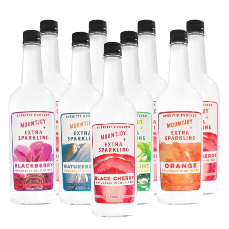 Extra Sparkling   Mixed Flavors   750 ml 9 pack